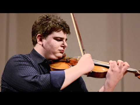 Chad Hoopes - Ravel's Tzigane  (Classical MPR Artist in Residence Live at MacPhail)