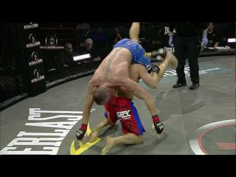 Bellator 38 moment Richard Hale locks in an incredible inverted triangle submission on Nik Fekete