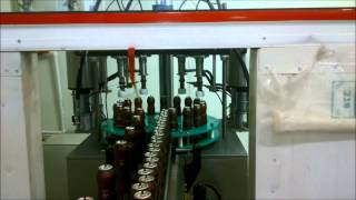 AEROSOL FILLING MACHINE FULL AUTOMATIC - OTOMATİK AEROSOL DOLUM MAKİNESİ 1