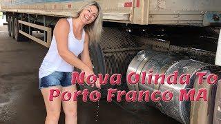 Ancorando em Nova Olinda TO e passando por Porto Franco MA