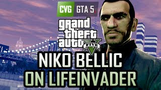 GTA 5 Easter Egg - Niko Bellic in GTA 5 on Lifeinvader