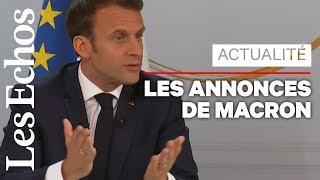 Grand débat : les annonces d'Emmanuel Macron