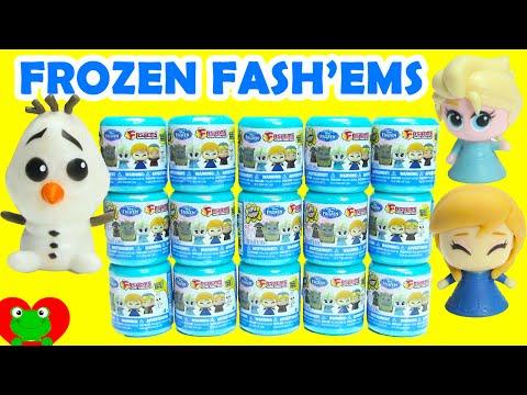 Frozen Fashems Disney 2015 Huevos Sorpresa de Plastilina Olaf Fash'em