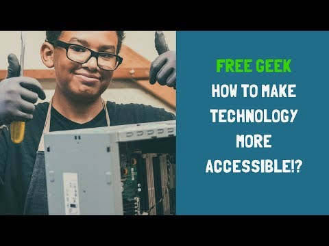 What Happens to Your Computer at Free Geek?