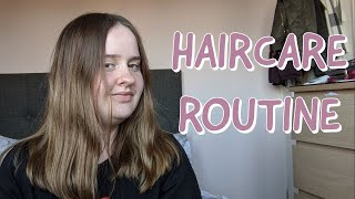 MY HAIR CARE ROUTINE | my method to getting healthy and shiny hair during quarantine