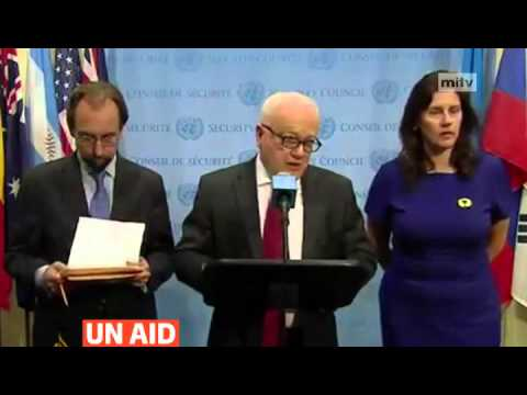 mitv - UN sends first Syria aid without government consent