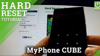 Hard Reset myPhone Cube - how to perform FACTORY RESET