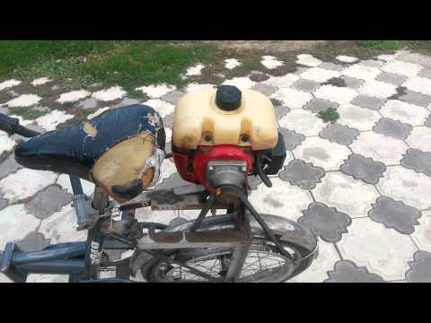 Велосипед с мотором своими руками фото