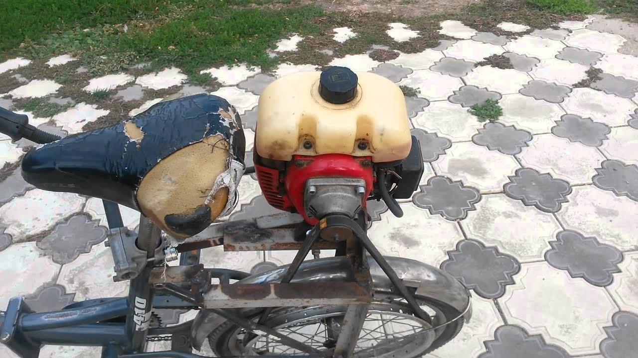 Самодельные мотовелосипеды своими руками