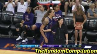Diana Taurasi And Brittney Griner Gets Ejected Against The Liberty