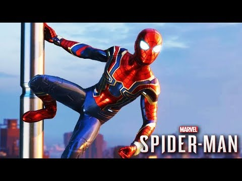 A ROUPA do IRON SPIDER MAN! - (SPIDER-MAN PS4)