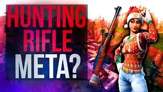 HUNTING RIFLE META? - Tfue Fortnite Twitch Highlights #3