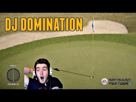 Rory McIlroy PGA Tour Online Ranked #1 - COMING FREE TO EA ACCESS! (Xbox One Gameplay)