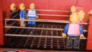 LWE Lego Tag Team John Cena, Randy Orton et Edge VS The Miz, Alberto Del Rio et CM Punk