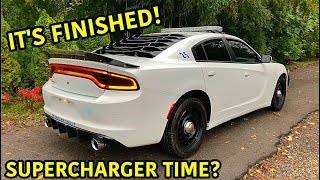 Rebuilding A Wrecked 2018 Dodge Charger Police Car Part 10