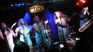 Clairy Browne & the Bangin' Rackettes - Live Encore at the Mint, Nov 13 including 'Love letter'