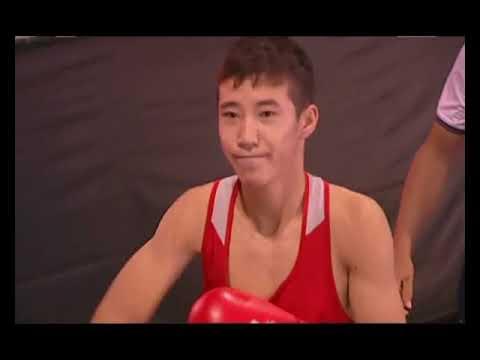 Спорт. Бокс. Первенство Азии-2017 по боксу среди юношей.
