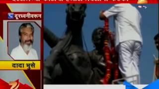 Dada Bhuse On Daily Traffic On Toll Naka
