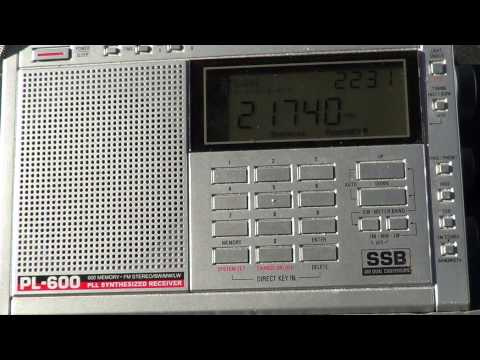 Radio Australia on 21740 tecsun pl-600