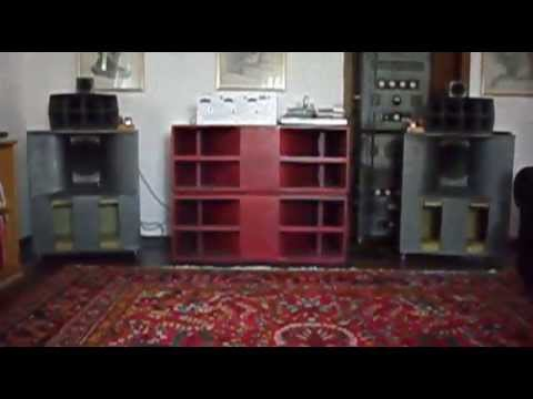 high voltage field coil speakers