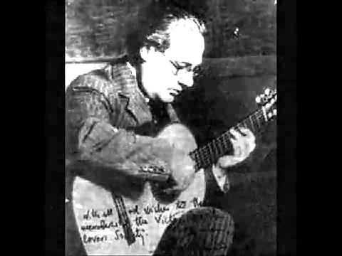 Andres Segovia Danza Mora Minueto F. Tarrega.flv