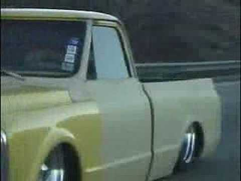 travis` s bodydropped 70 chevy truck ...IF CUSTOM Video