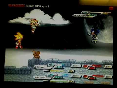 Sonic RPG Episode 8-Seelkadoom Boss Battle-'No Magic Tricks' Challenge