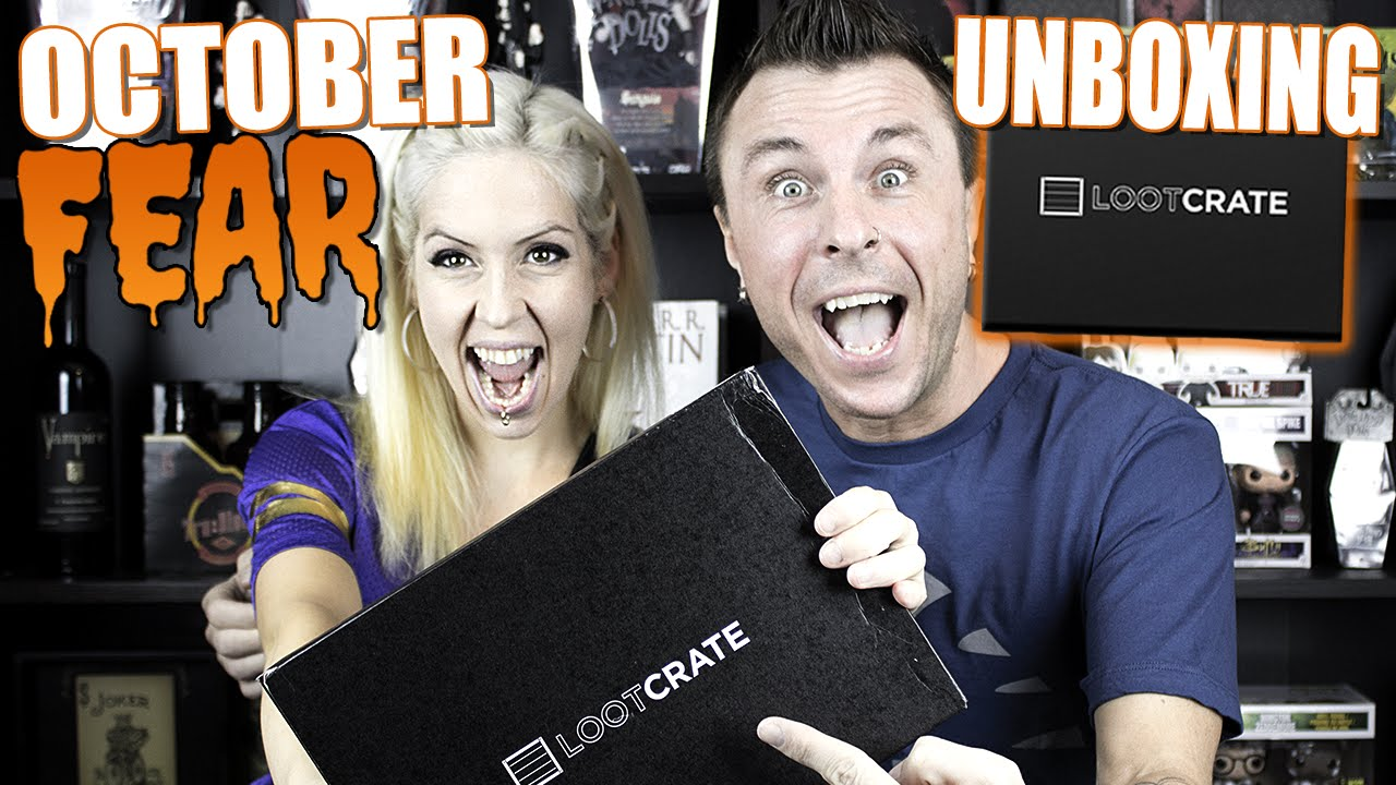 lootcrate unboxing