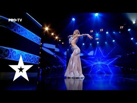 Dansul e subacvatic. Talentul iese la suprafata | Irina Livițchi - Românii Au Talent
