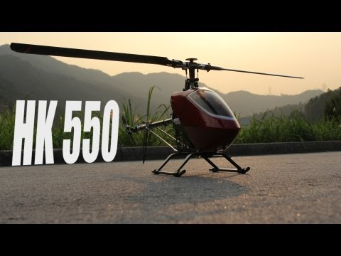 HobbyKing Product Video - HK 550 Helicopter