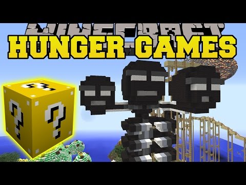 Minecraft: MADNESS MEDLEY HUNGER GAMES Lucky Block Mod Modded Mini Game