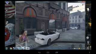 Playing GTA 5 on Android with Splashtop Streaming
