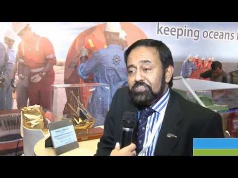 Abdul Maroof Khan interview at Offshore Arabia 2014
