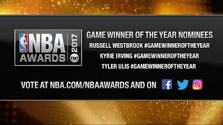 Inside the NBA: Game-winner of the Year Nominees