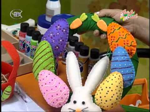 Caja para huevos de pascua youtube - Donde comprar pintura para tela ...