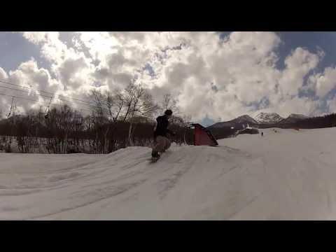 snowboard 2013 jib ground trick IKENO CITY