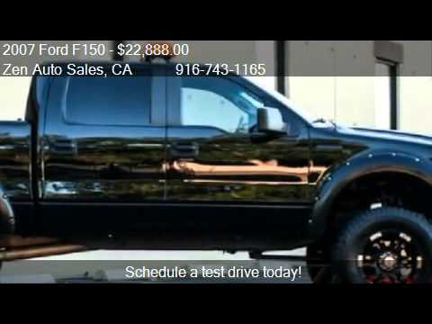 2013 Ford F 150 Super Cab >> 2007 Ford F150 XLT SuperCrew Lifted - for sale in Sacramento - YouTube