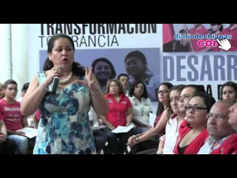 Se renueva el liderazgo del ONMPRI en Tuxtla Gutiérrez