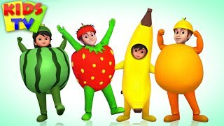 Fruits Song | Learn Fruits for Kids | Nursery Rhymes & Songs for Babies
