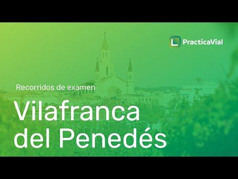 Recorrido de examen en Vilafranca del Penedés. Consejos en la zona de examen.