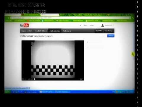 Ulead Video_Studio11ทำไตเติ้ล-ลิงค์ภายในYouTube