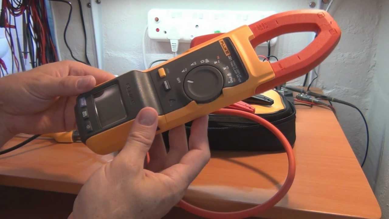 Clamp Meter Multimeter Digital True Rms Fluke 116 Hvac Photos