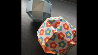Spherical box 球形の箱