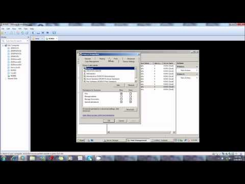 LAB 7: Creating and managing windows printers and installing the internet protocol