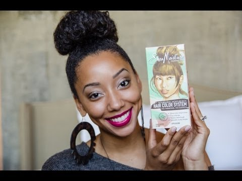DEBUT REVIEW: New Shea Moisture Hair Color System, Ammonia FREE!!