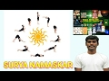 Learn step by step Surya Namaskar (12 Yoga poses)