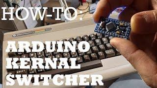 How-To: C64 Arduino based Restore Key/Four Kernal Switcher/Hard Reset