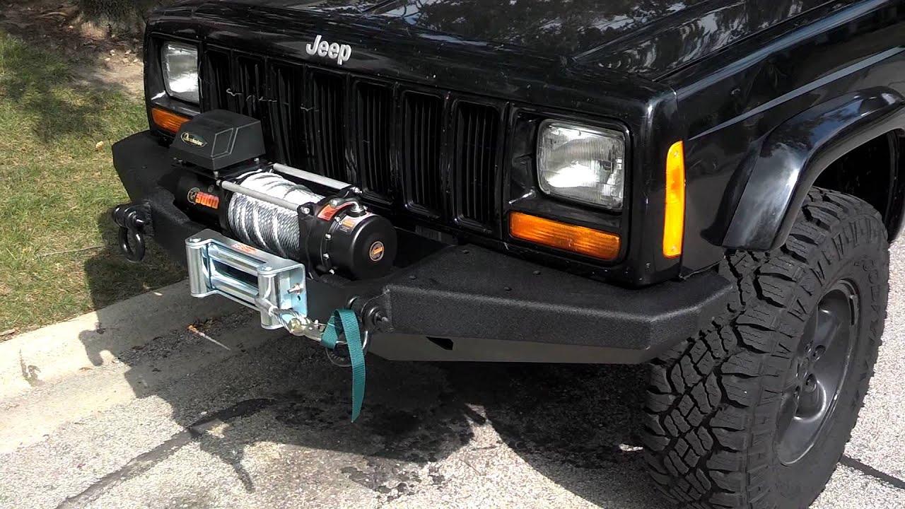 Jeep Xj Smittybilt Xrc Front Bumper Amp Quadratec Q9000