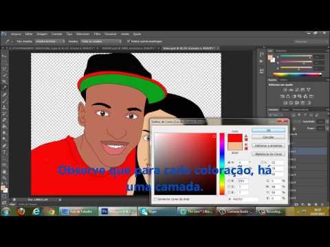 Aprendendo a fazer efeito desenho photoshop cs6