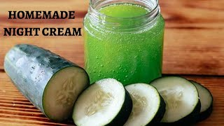 Summer Night Serum and Cream for bright and glowing skin for all skin type I Summer night cream DIY